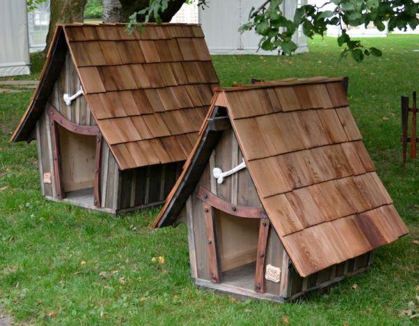 Build a dog house yourself – great ideas! – Archzine.net – #Arc …