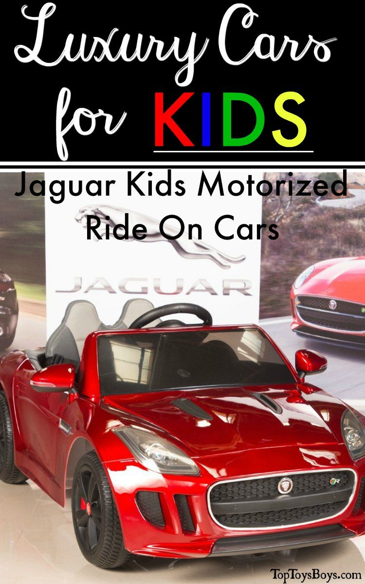 Jaguar Kids Motorized Ride On Cars Luxury Ride On Cars For Kids Ride On Toys Kids Ride On Kids