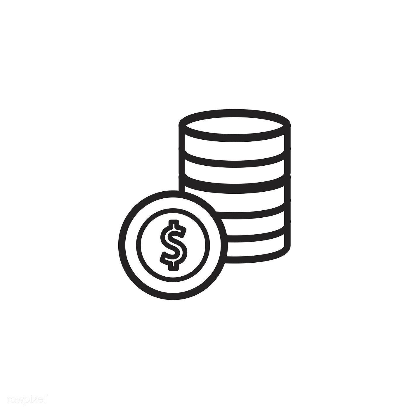 Money Icon Vector Free Image By Rawpixel Com Money Icons Vector Free Money Logo