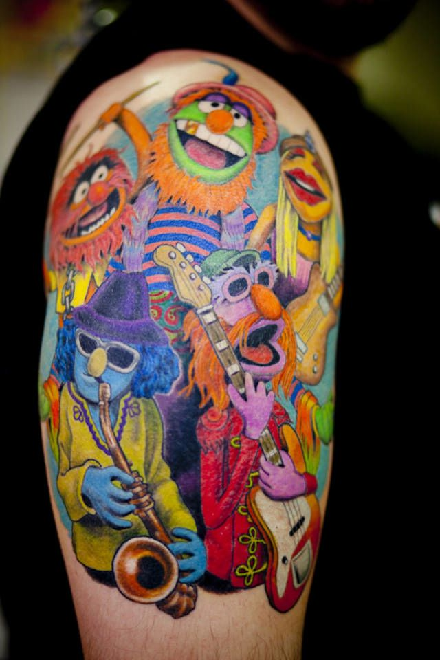awesome Dr. Teeth and The Electric Mayhem tattoo