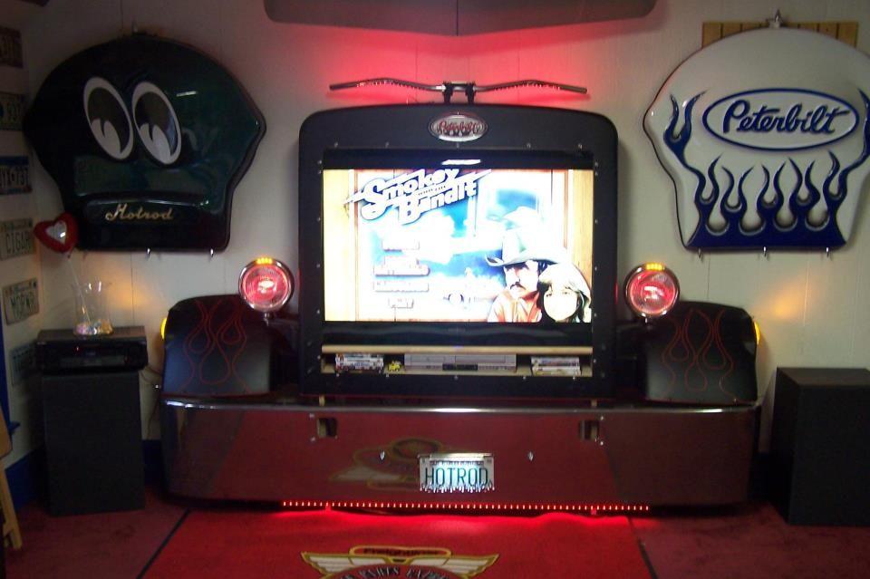 Semi Truck TV Surround