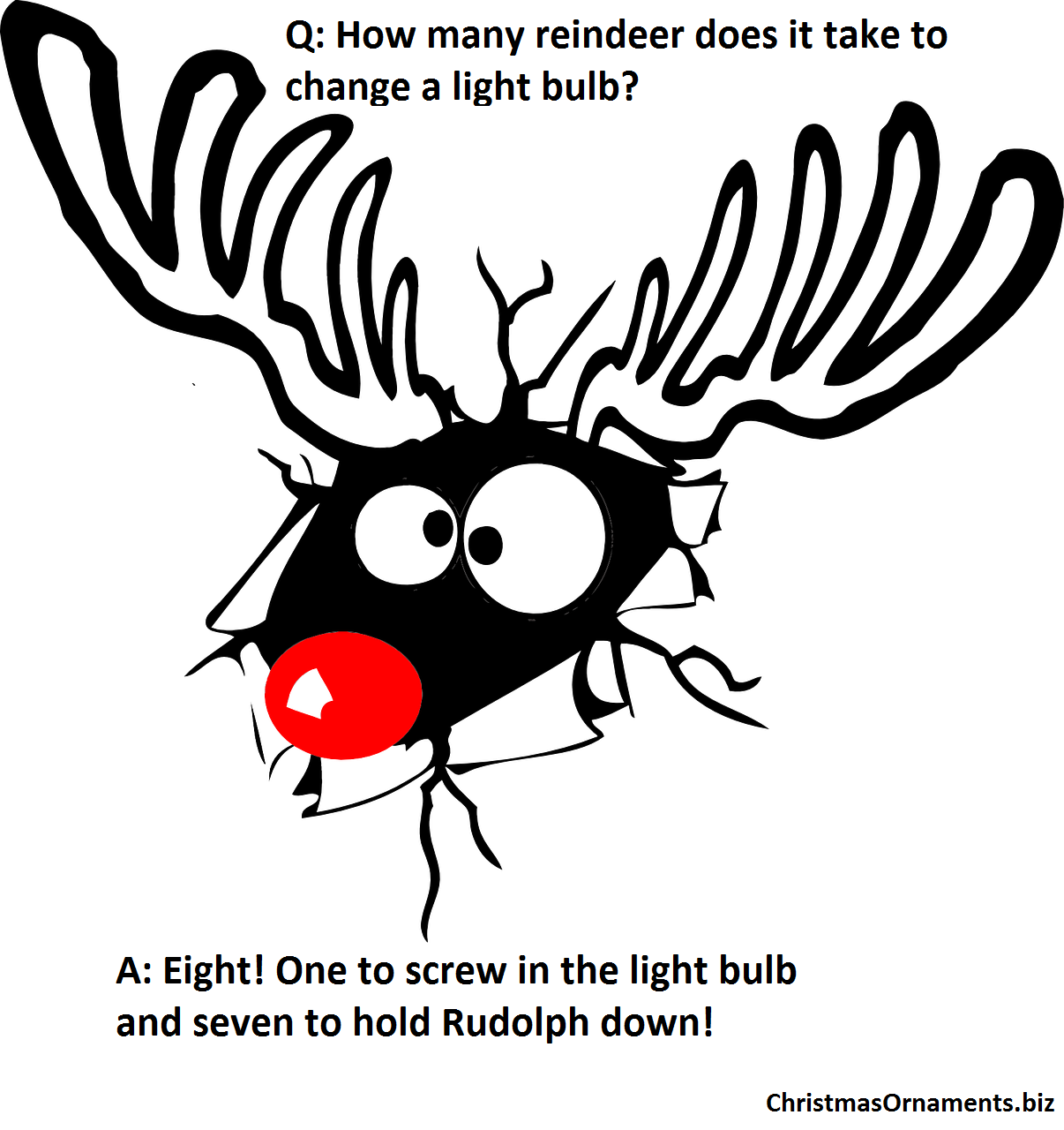 Christmas Joke Meme Rudolph The Red Nosed Reindeer