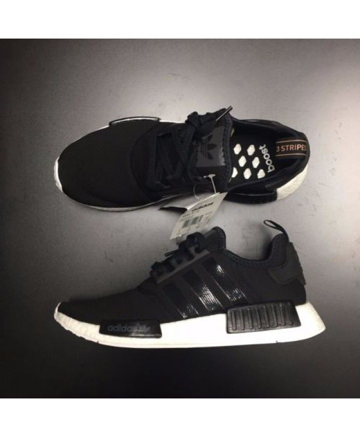 ca23b618b Adidas NMD R1 Core Black White Trainer R1 - Adidas NMD R1 UK