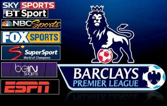 Barclays Premier League 2015 16 Live Broadcasting Tv Channels Tv Channel List Premier League Barclay Premier League