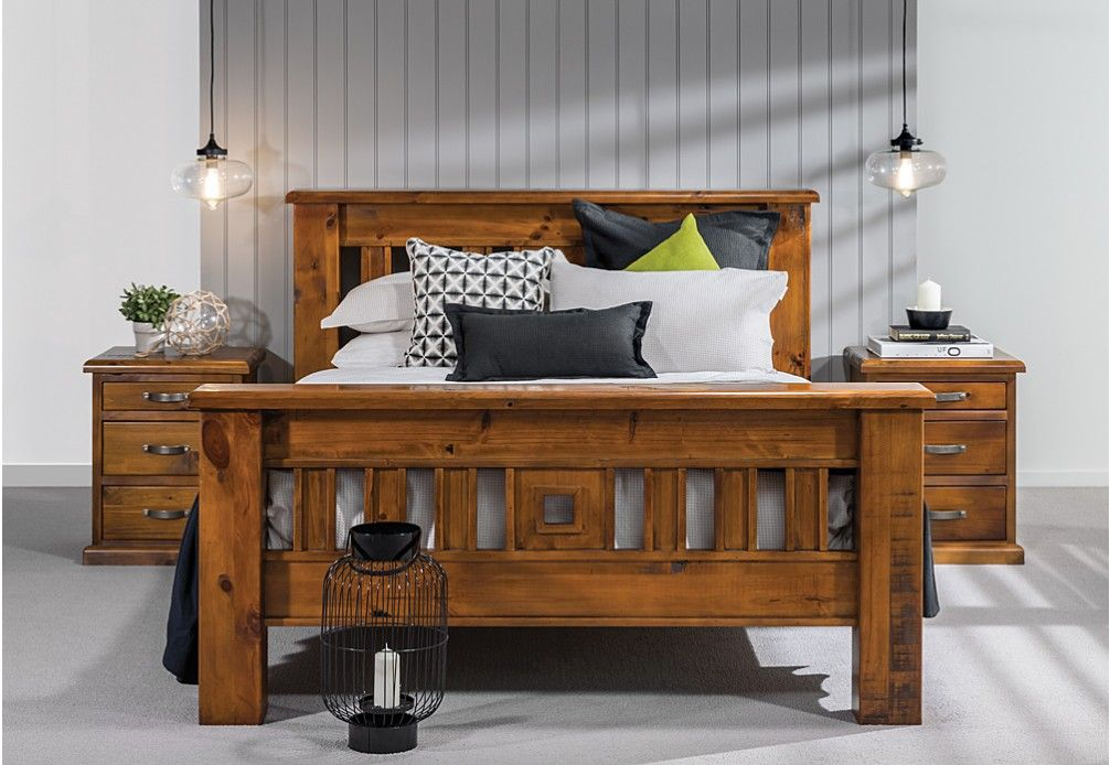Settler Piece Queen Bedroom Suite Super AMart HUT Pinterest - Settler bedroom furniture