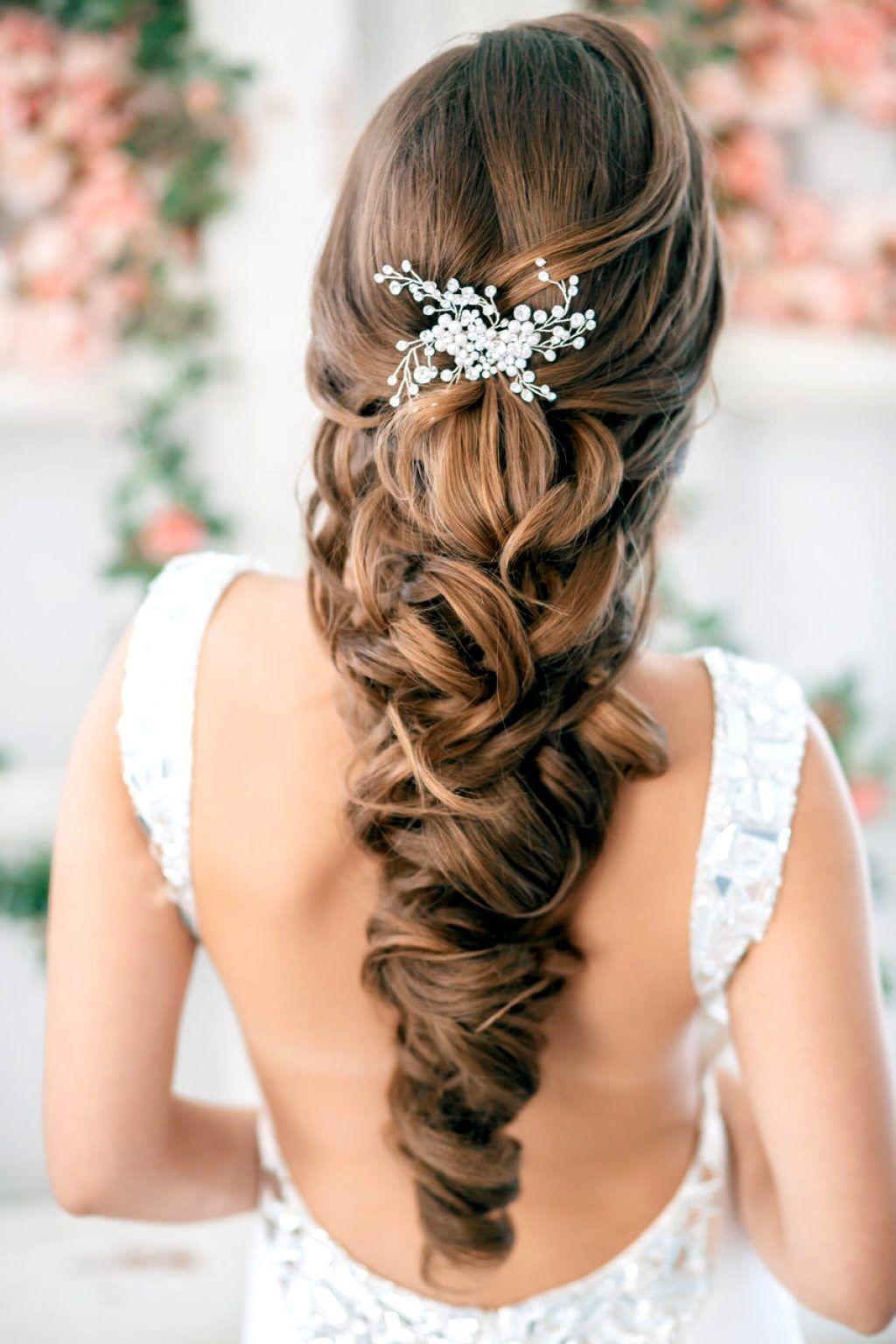16 Peinados que te harán ver hermosa en tu vestido de novia | Novio ...