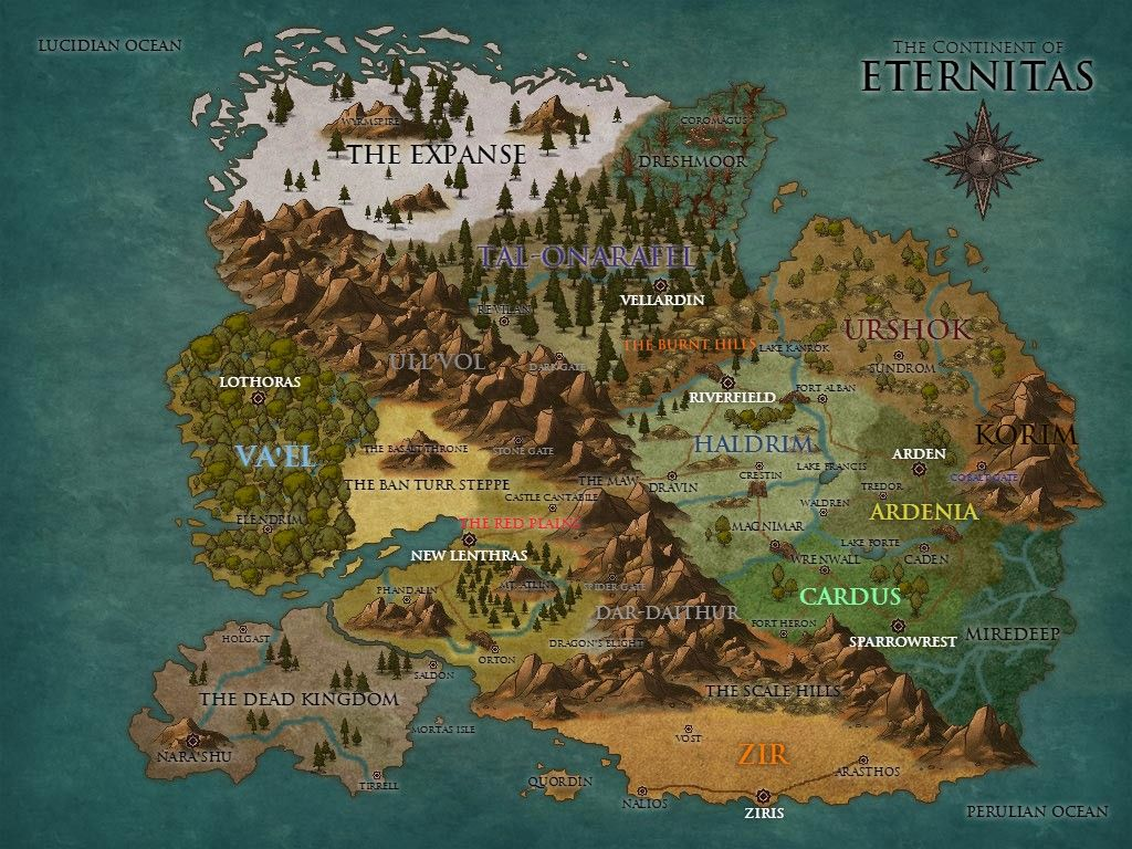 Free Fantasy Map Generators Assorted Links Feed The Multiverse
