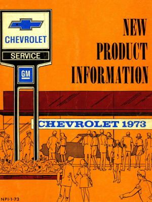 New Product Information Chevrolet Manual 1973