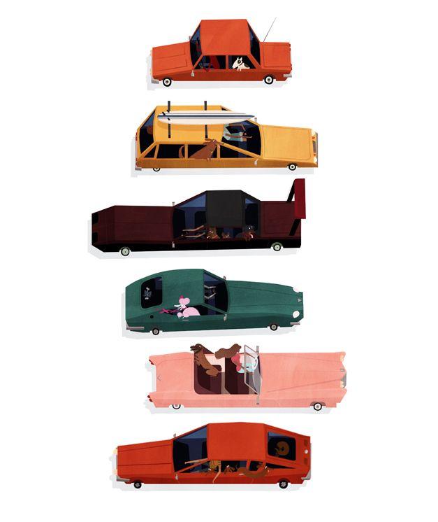 Dogs & Cars — NEW : EMMANUELLE WALKER