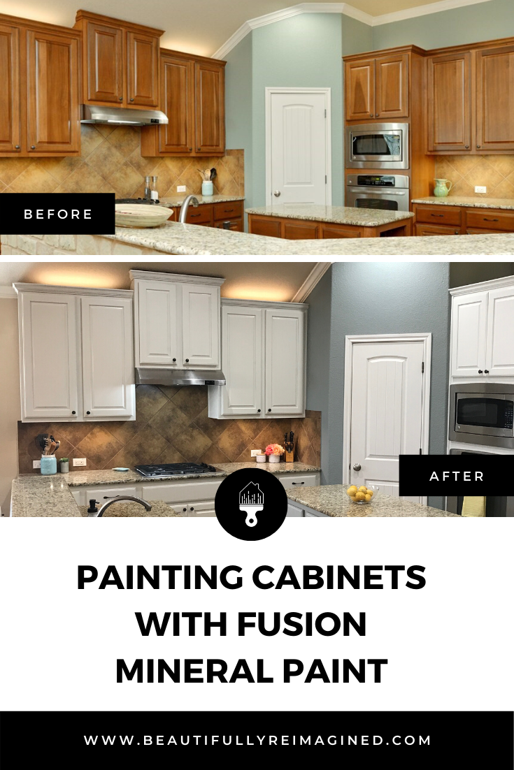 Painting Cabinets With Fusion Mineral Paint Painting Cabinets Fusion Mineral Paint Painting Kitchen Cabinets