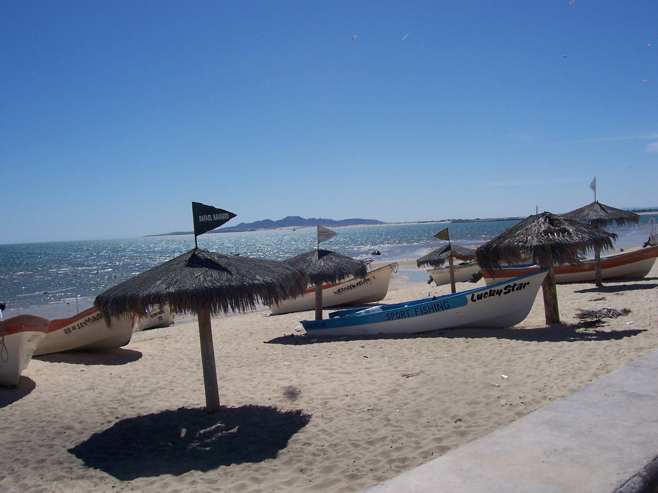 The malacon in San Felipe