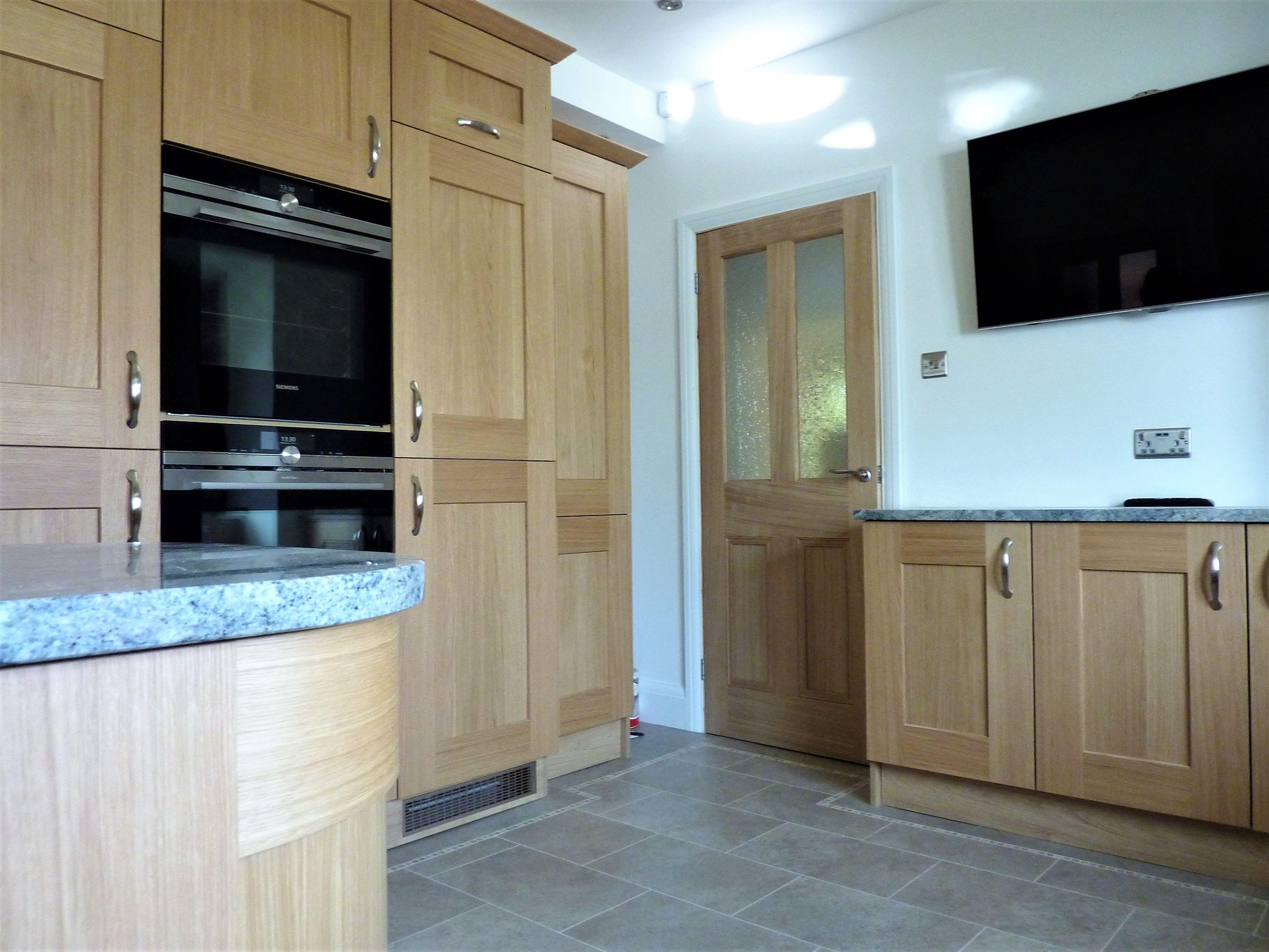 light oak shaker kitchen with images  shaker kitchen