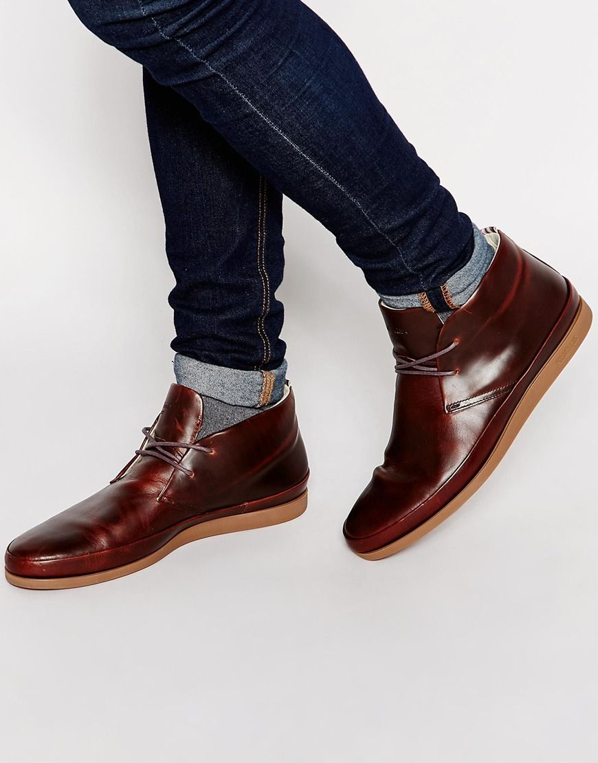 4c8cd89282a Image 1 of Paul Smith Jeans Loomis Chukka Boots | Lookbook: jeans+ ...