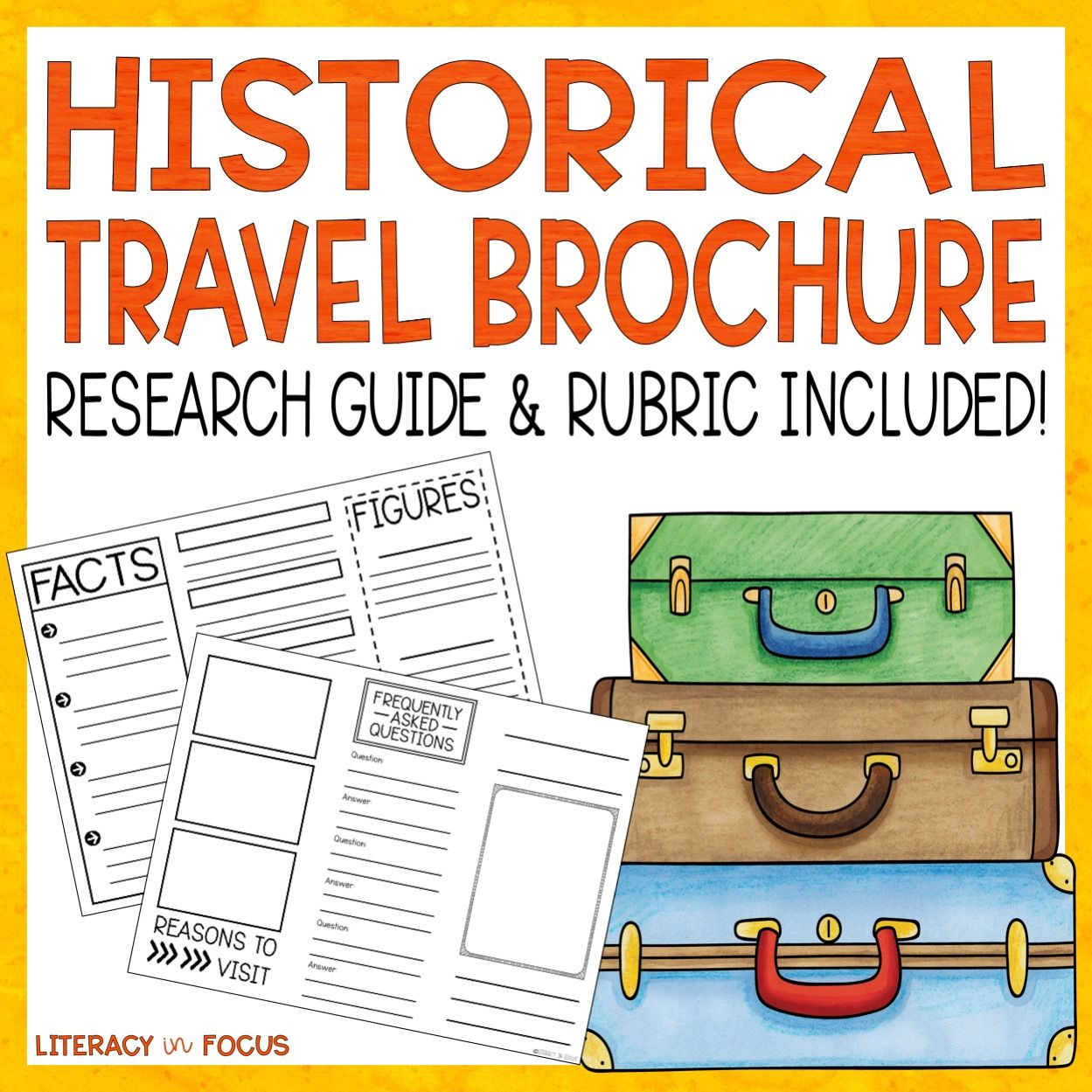 Historical Travel Brochure And Research Project
