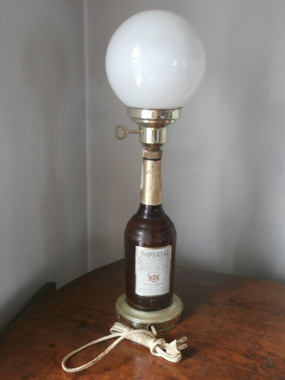Vtg Home Bar Lamp Imperial Whiskey Circa 1970s by Pascalene