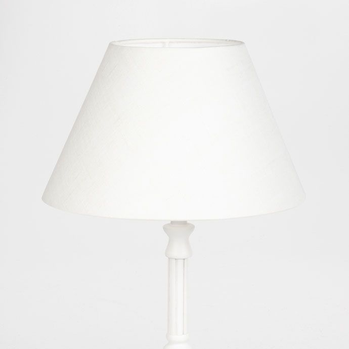 Linen White Lamp Shade - Lamps