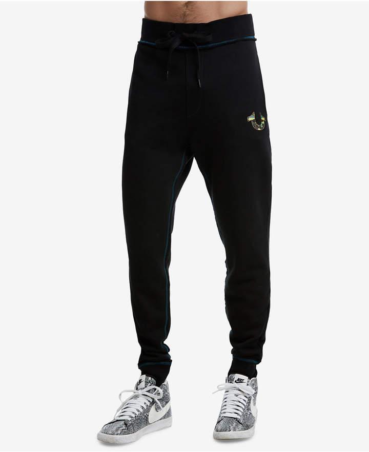 24b73357a0 True Religion Men's Metallic Puff Print Cuffed Sweatpants   Products ...