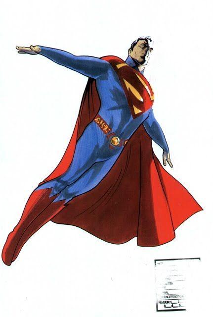 Superman by David Williams