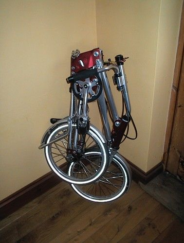 Airframe Folding Bicycle, no wear, early model (Collecters item.)