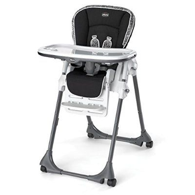 Amazon Com Chicco Vinyl Polly High Chair Rainfall Baby Baby High Chair Best High Chairs High Chair