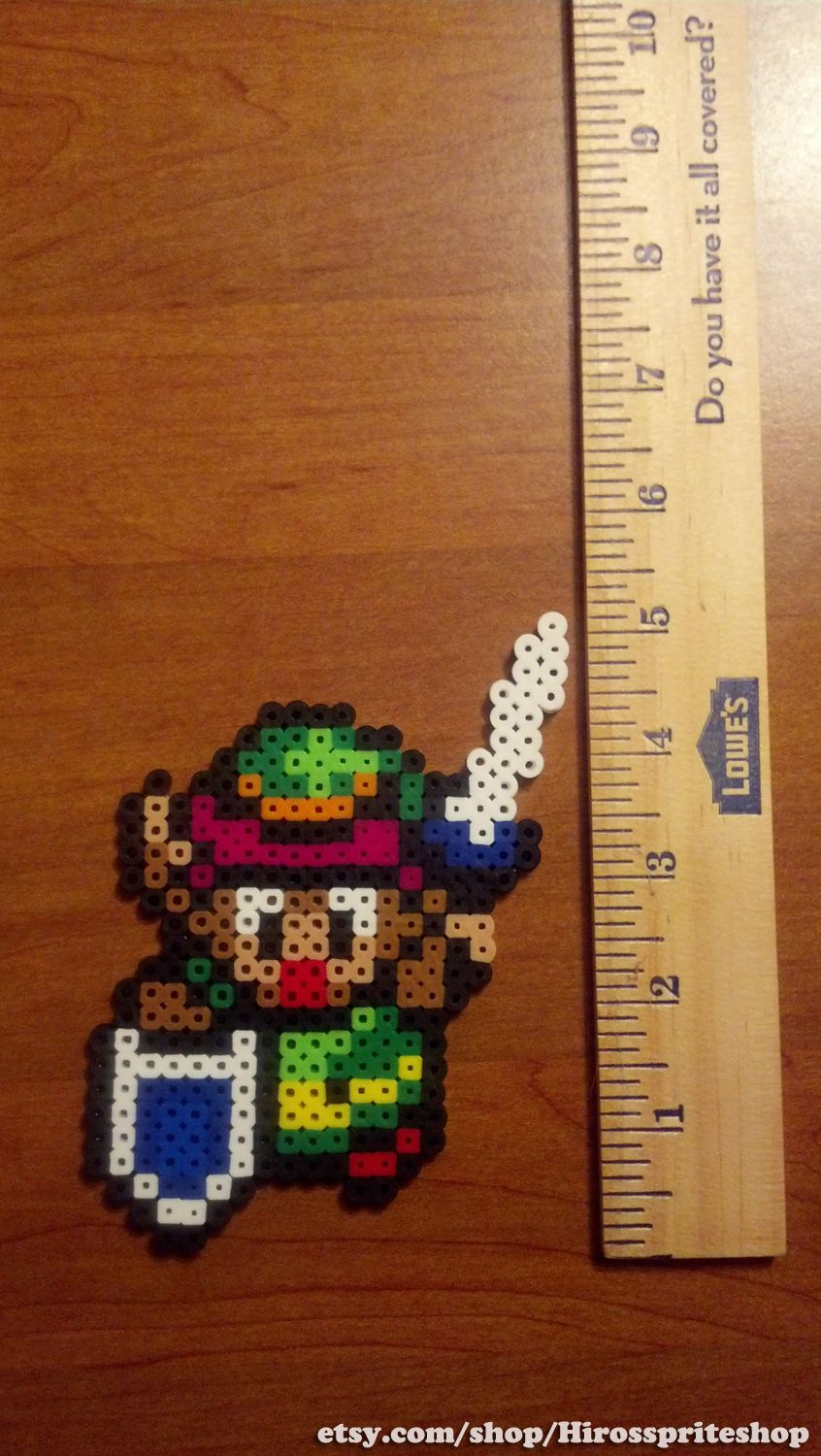 Perler of Link, from Legend of Zelda: A Link to the Past