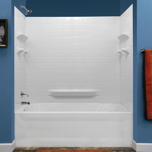 Lyons Monaco Premium Tile Sectional Shower Wall Kit At Menards