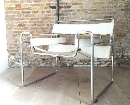 Marcel Breuer Stoel : Marcel breuer wassily stoel vintage retro jaren design living