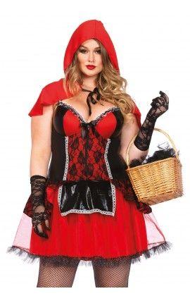 Disfraces Talla Grande 1 Disfraces Tallas Grandes Disfraz Caperucita Roja Mujer Disfraz Caperucita Roja