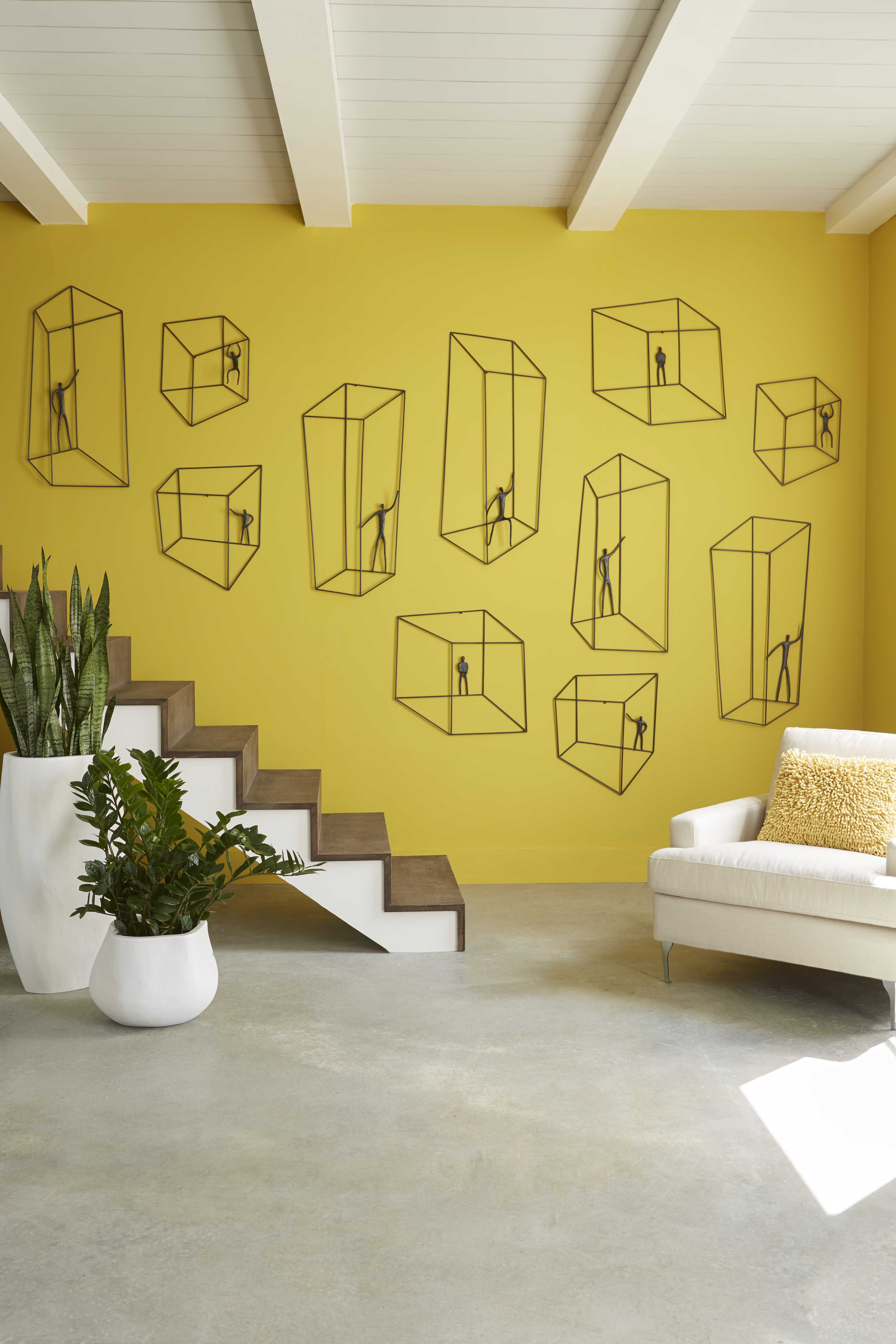 Our Perspective Wall Art featured up a stair well #dimensional ...