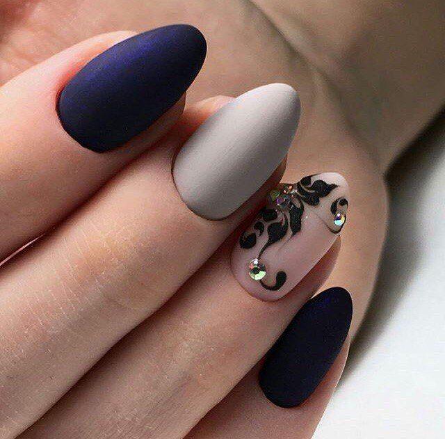 Nail Art #3914 - Best Nail Art Designs Gallery   Monogram nails, Modern  nails and Colourful nails - Nail Art #3914 - Best Nail Art Designs Gallery Monogram Nails
