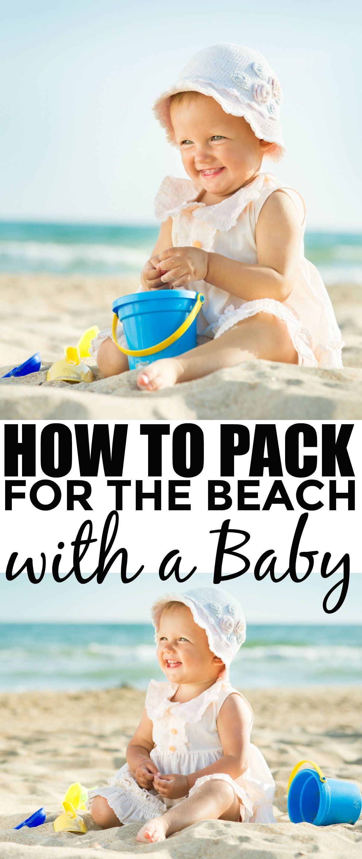 How to Pack for the Beach with a Baby - Family Travel tips for infants and new parents. Summer fun without the stress! #style #shopping #styles #outfit #pretty #girl #girls #beauty #beautiful #me #cute #stylish #photooftheday #swag #dress #shoes #diy #design #fashion #Travel