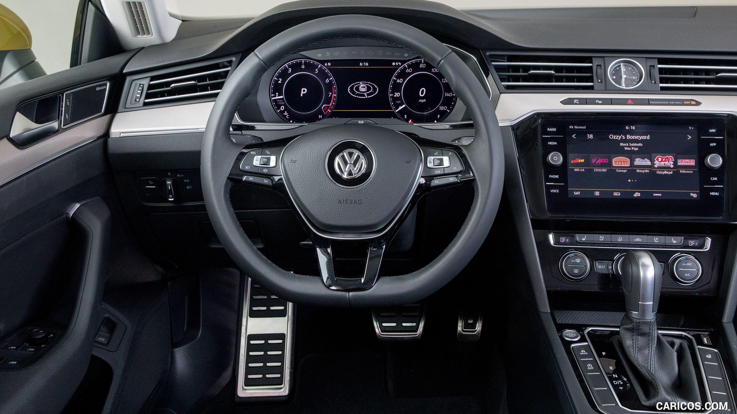 2019 Volkswagen Arteon Us Spec Interior Cockpit Hd Volkswagen Sedan Cockpit