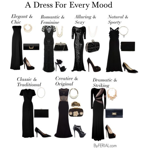 """A Dress For Every Mood"" by ferialyouakim on Polyvore"