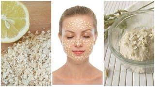 Maschera all'avena e limone contro le macchie del viso – Vivere più sani