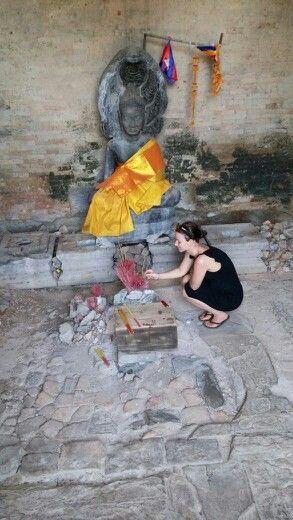 Preghiera in Thailand