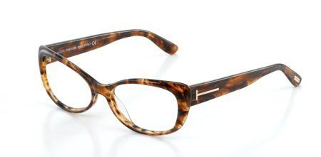 Tom Ford FT5263 Eyeglasses Color 052 Now for 95.00. Model No : FT5263. Frame Color :dark havana. All eyewear come with original case, cloth and manufacturers papers.. Tom Ford women Eyeglasses. Size : 55x15x140