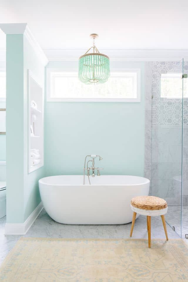 Our Favourite Summer Colour Combinations Bathroom Designs Cool Blue Bathroom Designs Minimalist