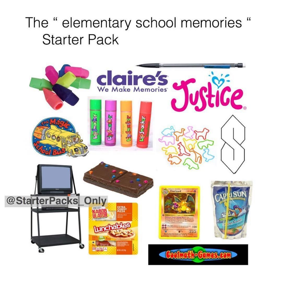 """Starter Packs Only! on Instagram: """"What a throwback😍#starterpack - - Follow @starterpacks_only (me) for more!"""""""