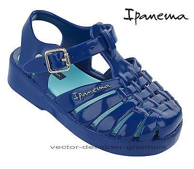 New Ipanema Blue Baby Toddler Infant Boys Harper Jelly ...