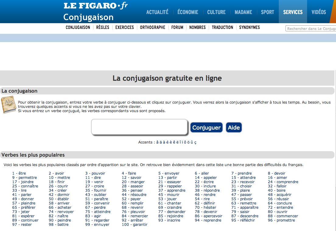 Conjugueur Exercices Orthographe Exercices Conjugaison Orthographe