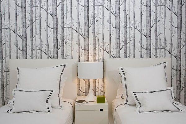 Картинки по запросу чёрные обои с деревьями | Дизайн ...