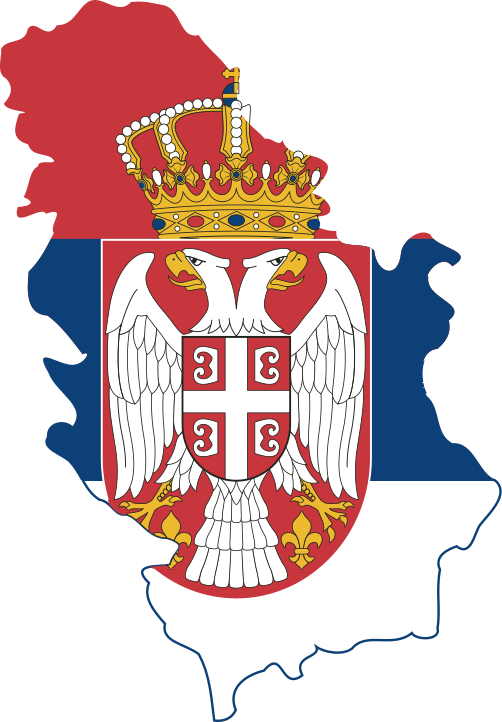 Flag map of Serbia (with Kosovo).svg