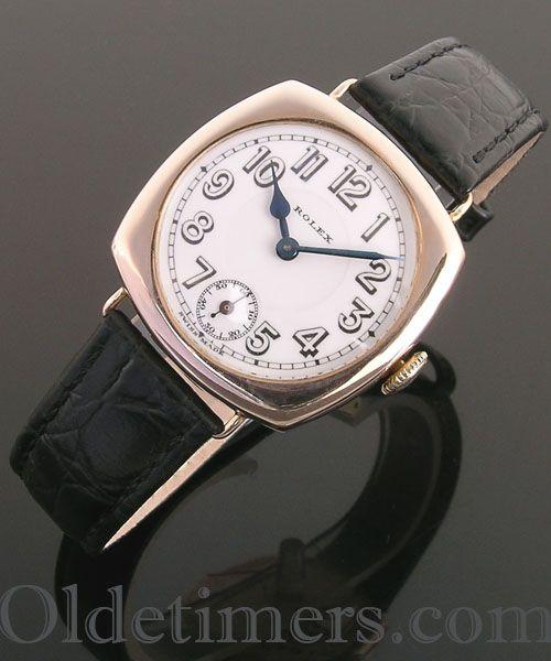 1920s 9ct Rose gold vintage Rolex watch