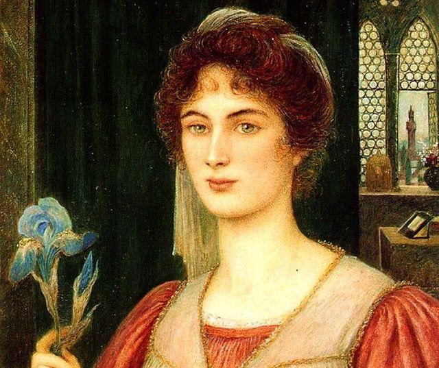 Marie Spartali Stillman (English, 1844-1927).
