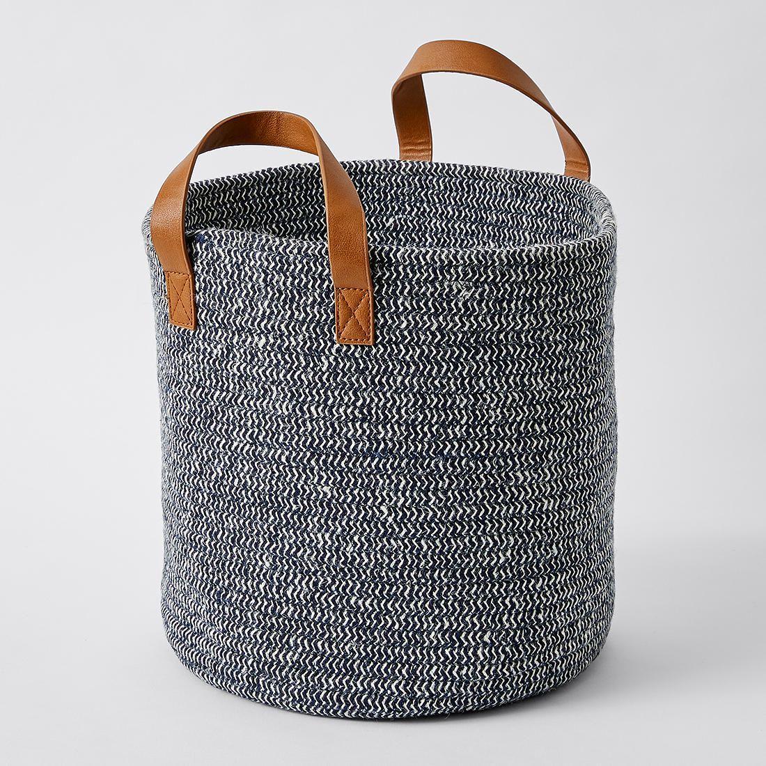 Woven jute basket jute laundry and storage woven jute basket target australia gumiabroncs Gallery