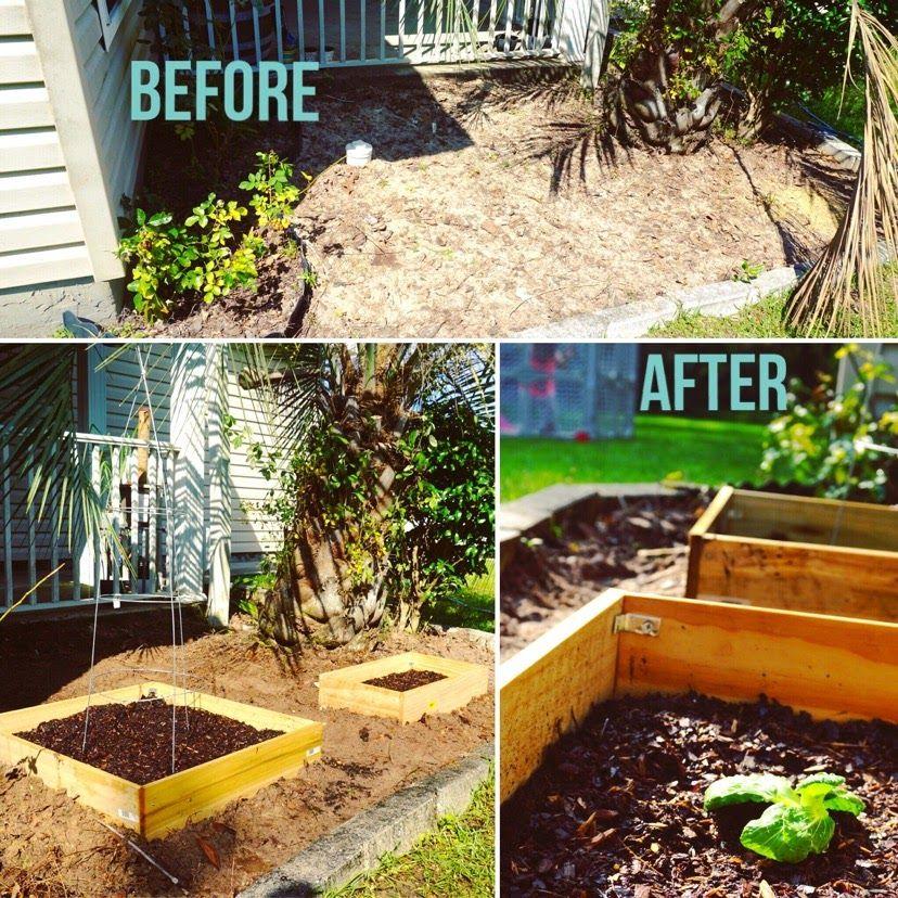 DIY Small Raised Garden #garden #parenthood #raised