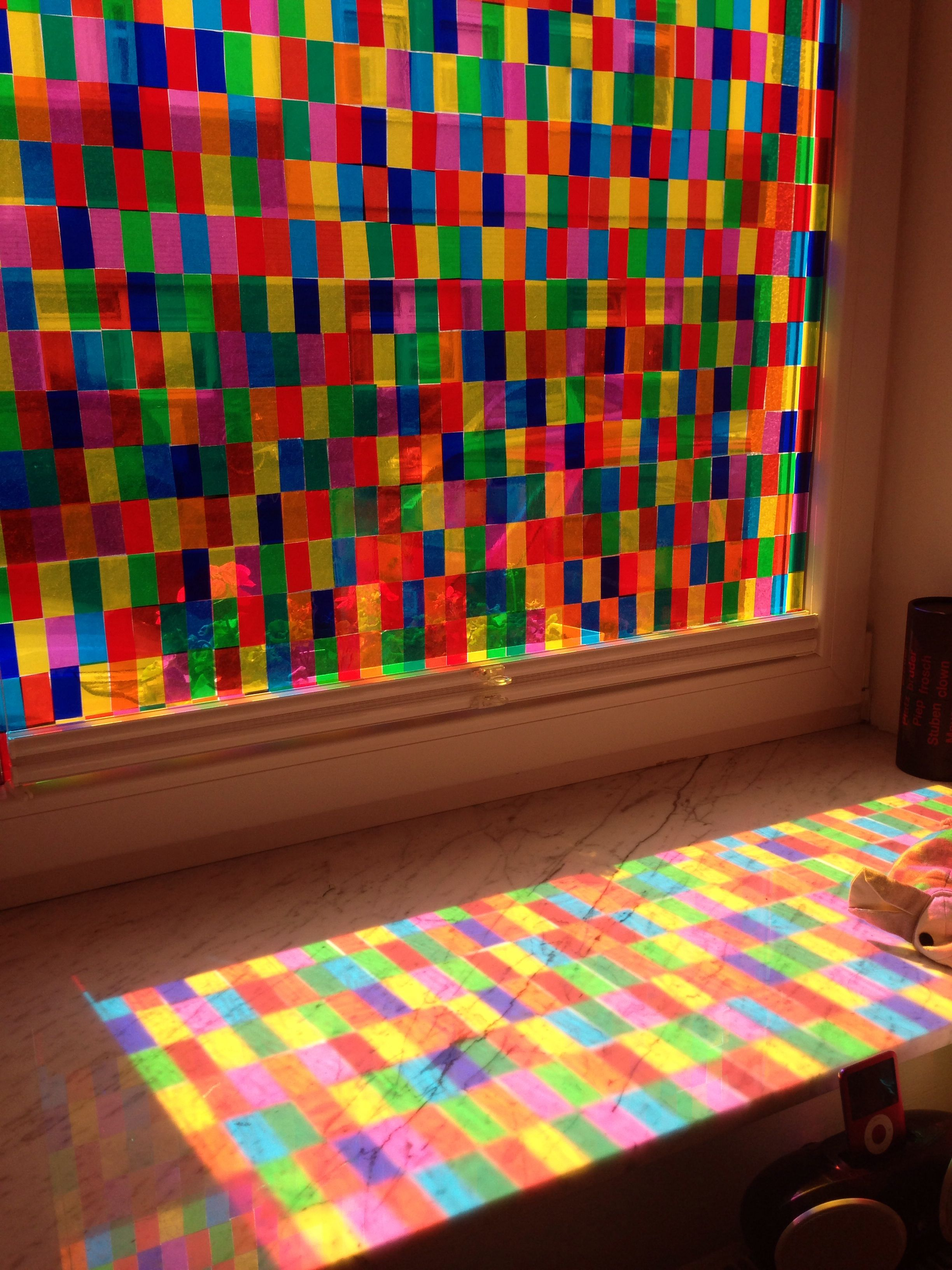 Awesome multi-coloured Window -- recreate the famous Richter window of the legendary Cologne Cathedral