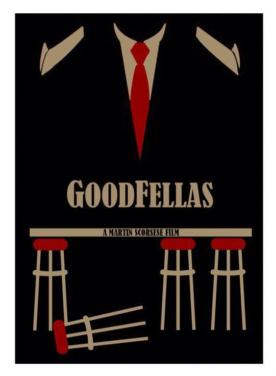 goodfellas minimal minimalist movie