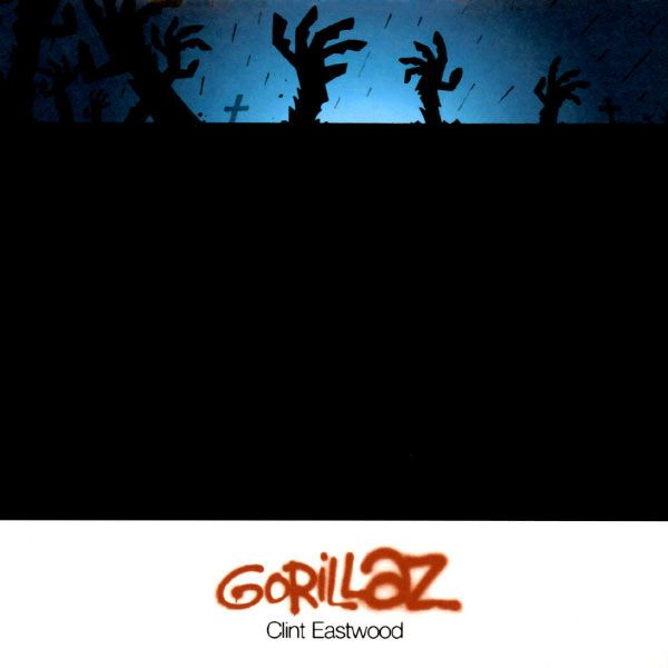 Gorillaz – Clint Eastwood (single cover art)
