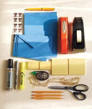 Desk drawer supplies
